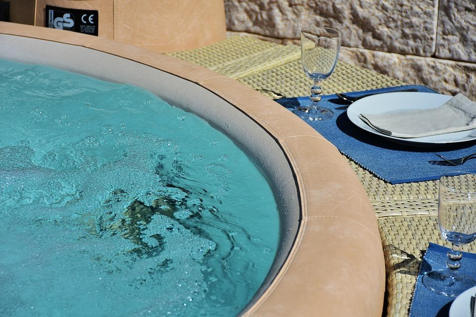 Un spa dans votre terrasse